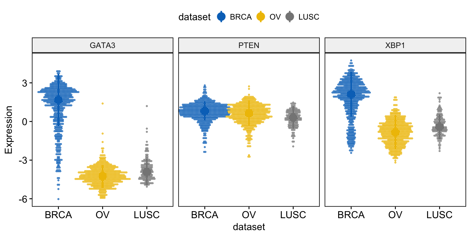 Facilitating Exploratory Data Visualization Application