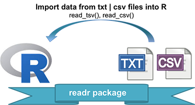 Reading Data From txt|csv Files: readr package