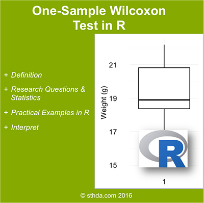 One Sample Wilcoxon test