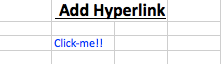 Read and write excel file using R, add hyperlink