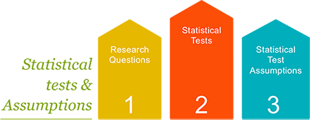 Statistical tests and assumptions