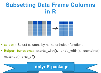 Subsetting Columns of a Data Frame in R